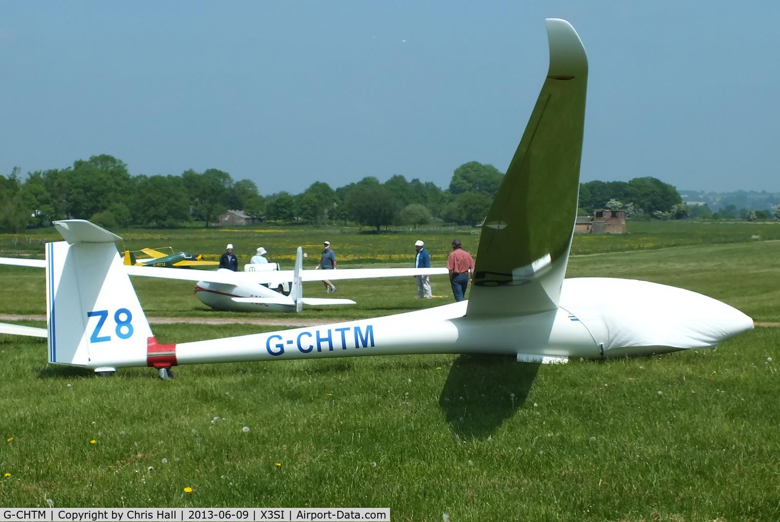 G-CHTM, 1996 Rolladen-Schneider LS-8-18 C/N 8036, Staffordshire Gliding Club, Seighford Airfield