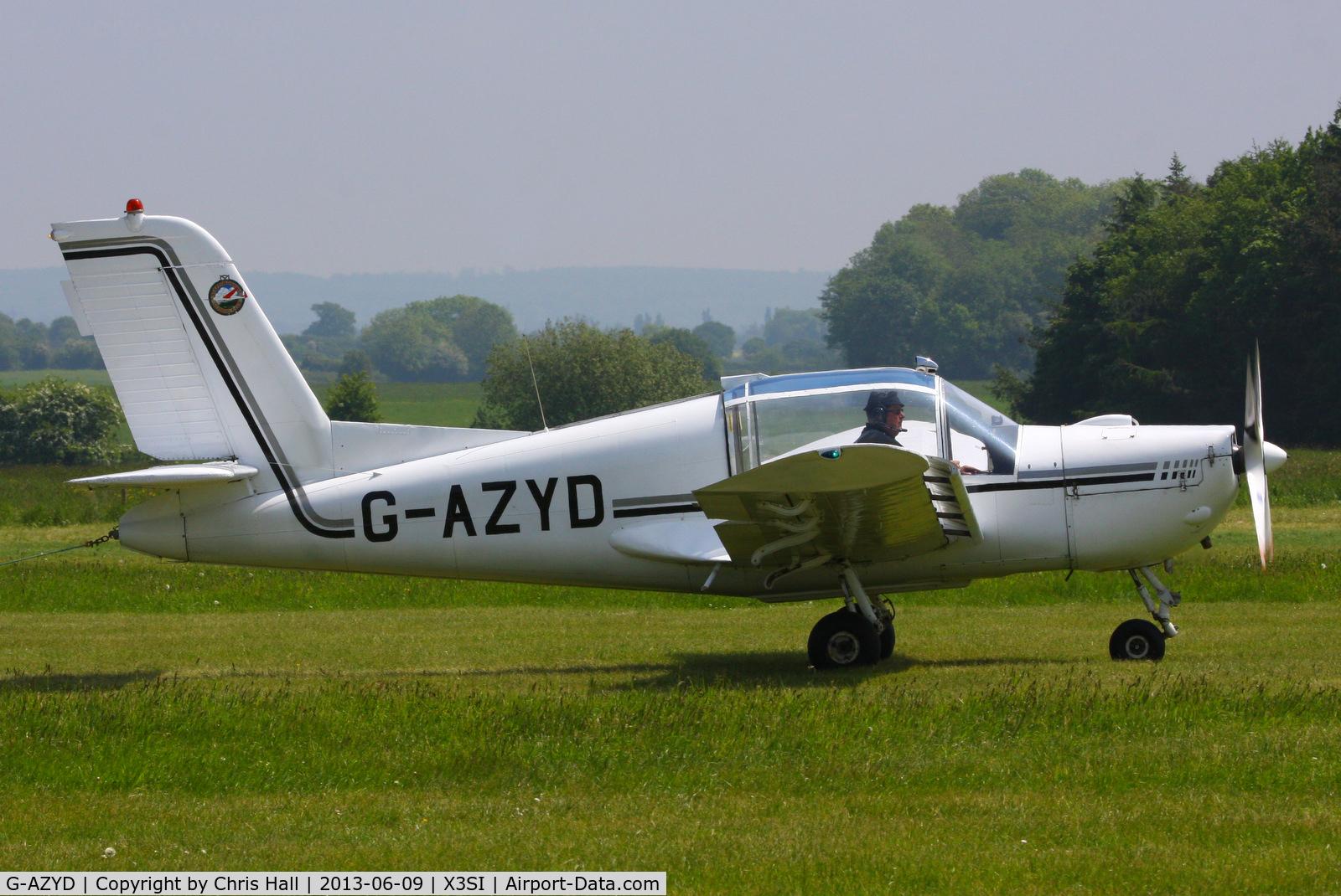 G-AZYD, 1966 Socata MS-893A Rallye Commodore 180 C/N 10645, Staffordshire Gliding Club, Seighford Airfield