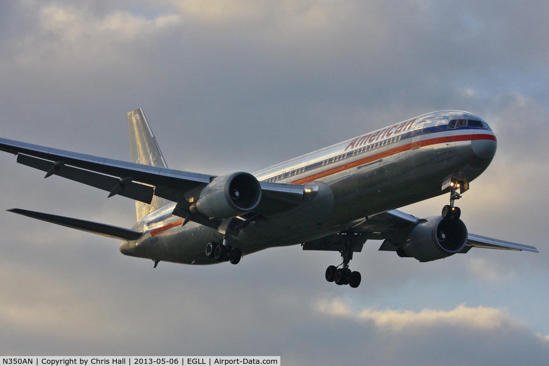 N350AN, 2003 Boeing 767-323/ER C/N 33089, American Airlines