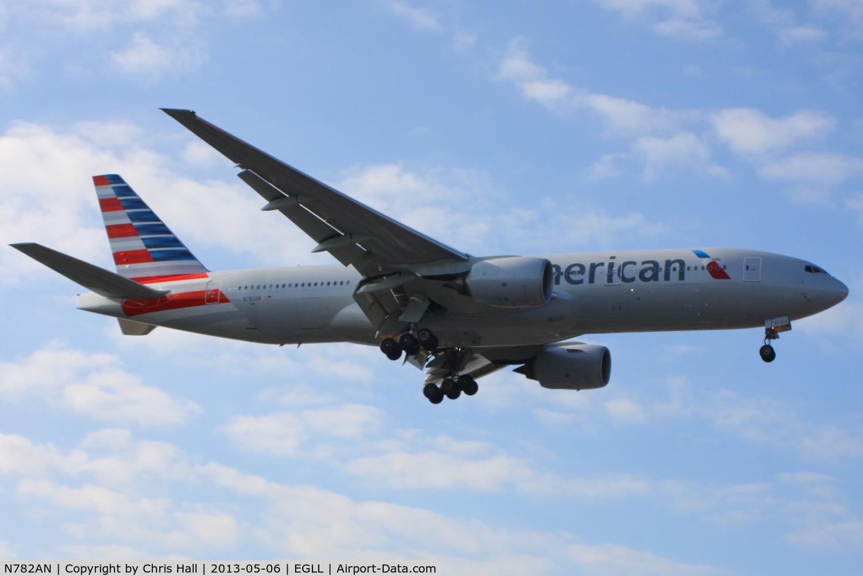 N782AN, 2000 Boeing 777-223 C/N 30003, American Airlines