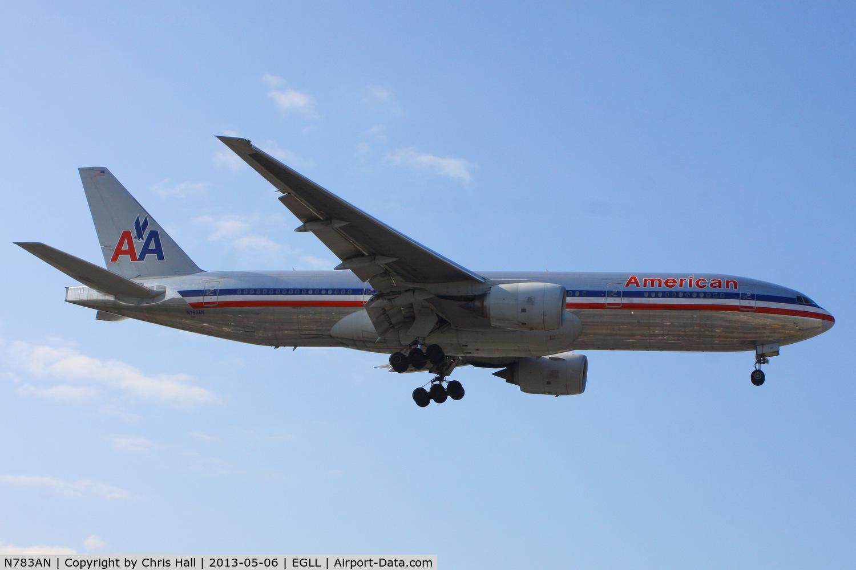 N783AN, 2000 Boeing 777-223 C/N 30004, American Airlines