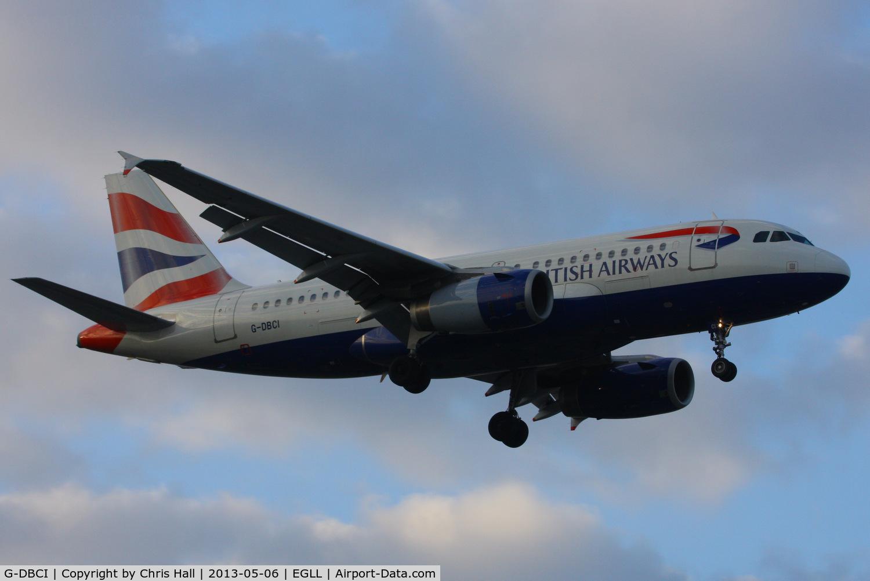 G-DBCI, 2006 Airbus A319-131 C/N 2720, British Airways