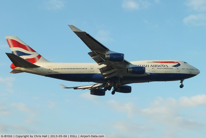 G-BYGG, 1999 Boeing 747-436 C/N 28859, British Airways