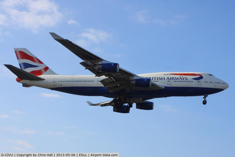 G-CIVU, 1998 Boeing 747-436 C/N 25810, British Airways