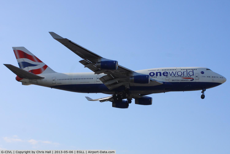 G-CIVL, 1997 Boeing 747-436 C/N 27478, British Airways