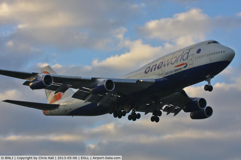 G-BNLJ, 1990 Boeing 747-436 C/N 24052, British Airways