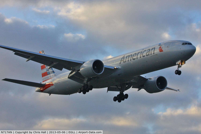 N717AN, 2012 Boeing 777-323/ER C/N 31543, American Airlines