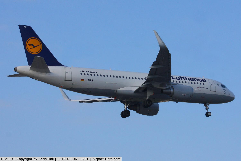 D-AIZR, 2013 Airbus A320-214 C/N 5525, Lufthansa