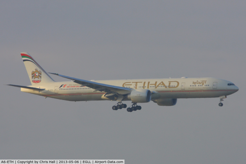 A6-ETH, 2011 Boeing 777-3FX/ER C/N 39683, Etihad Airways
