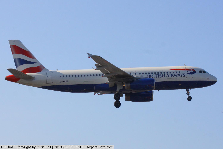 G-EUUA, 2001 Airbus A320-232 C/N 1661, British Airways