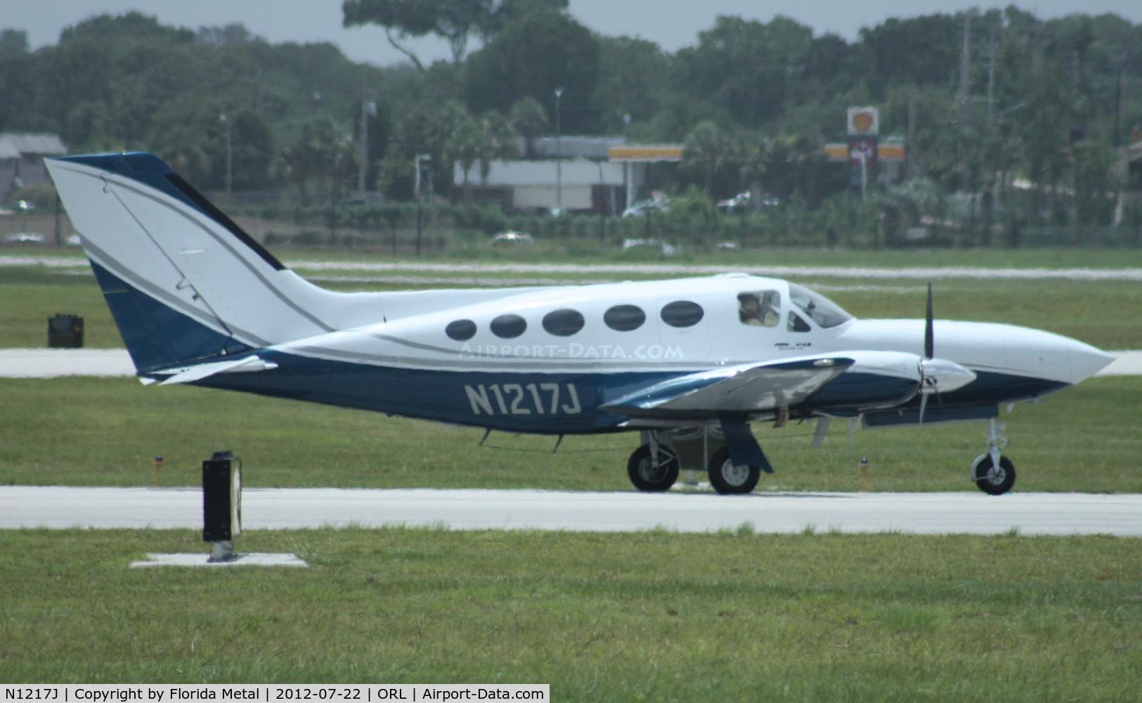 N1217J, 1980 Cessna 414A Chancellor C/N 414A0487, Cessna 414A