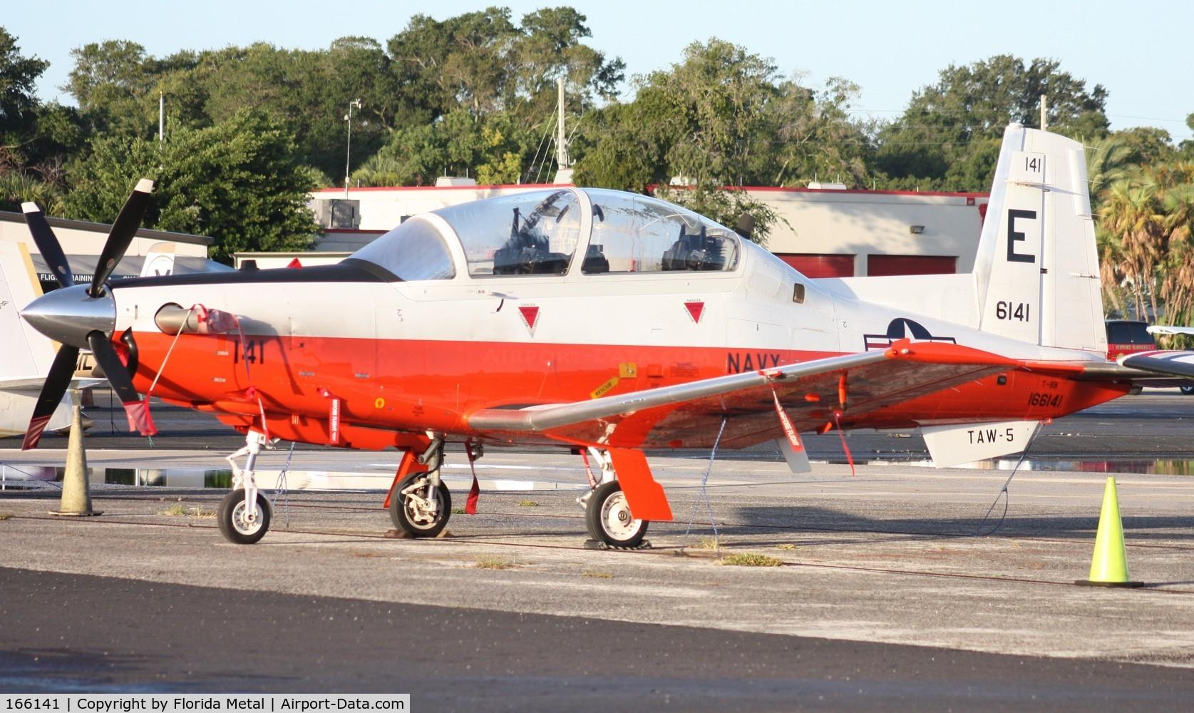 166141, Raytheon T-6B Texan II C/N PN-132, T-6B Texan II