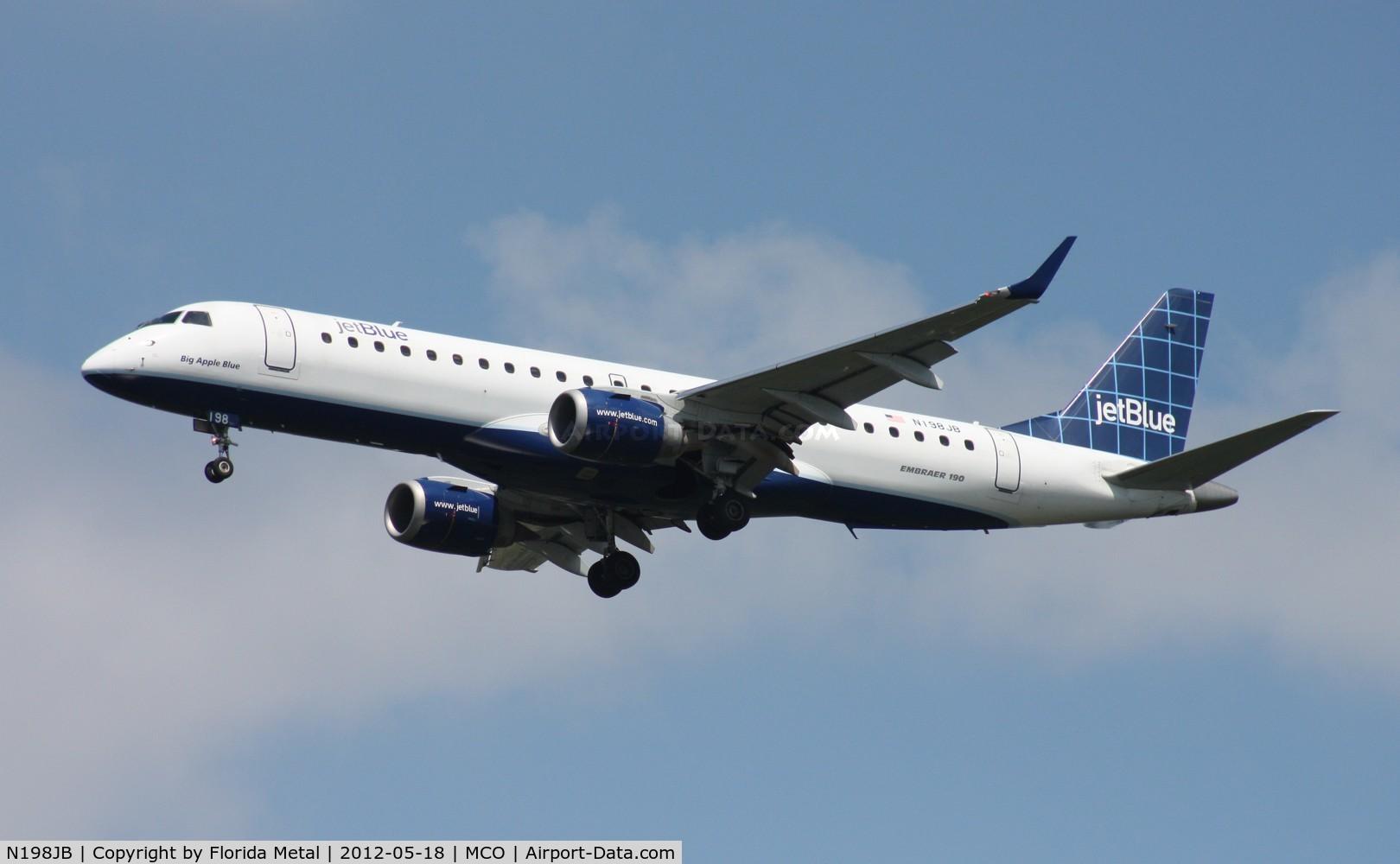 N198JB, 2006 Embraer 190AR (ERJ-190-100IGW) C/N 19000021, Jet Blue E190