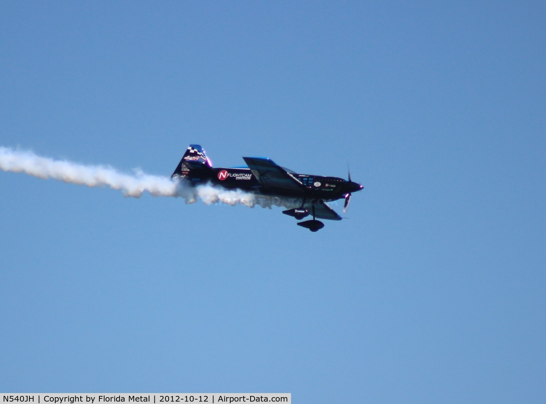 N540JH, MX Aircraft MXS C/N 14, Rob Holland over Daytona Beach