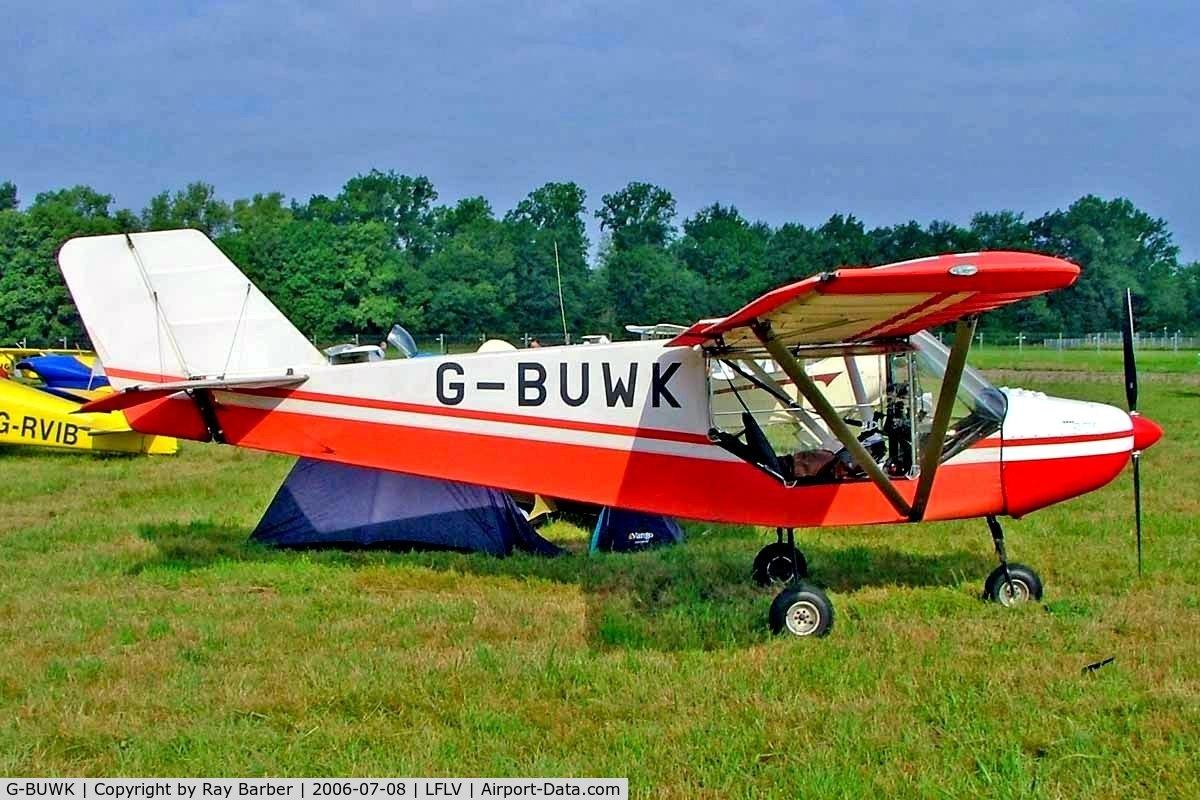 G-BUWK, 1993 Rans S-6ES Coyote II C/N PFA 204A-12448, Rans S.6-116 Coyote II [PFA 204A-12448] Vichy~F 08/07/2006