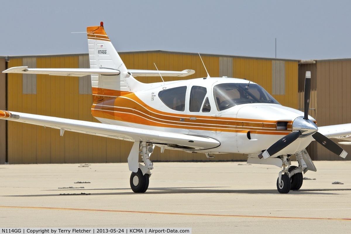 N114GG, Rockwell International 114A Commander C/N 14529, At Camarillo Airport , California