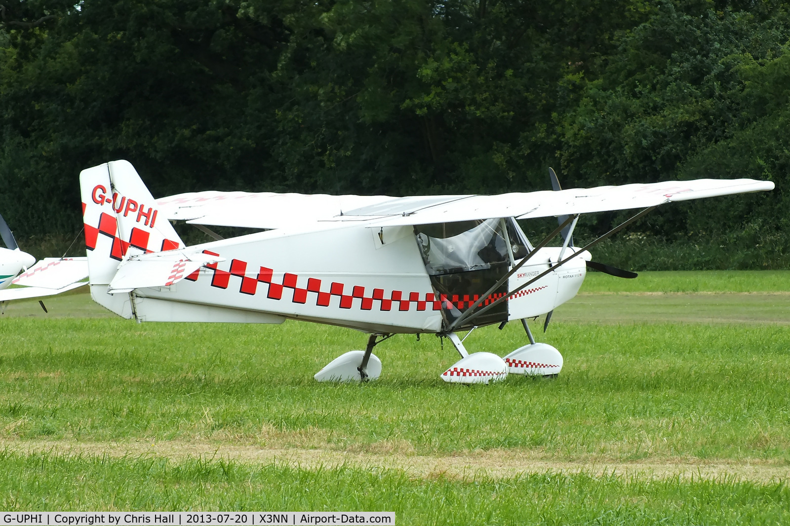 G-UPHI, 2006 Best Off Skyranger Swift 912S(1) C/N BMAA/HB/480, at the Stoke Golding stakeout 2013