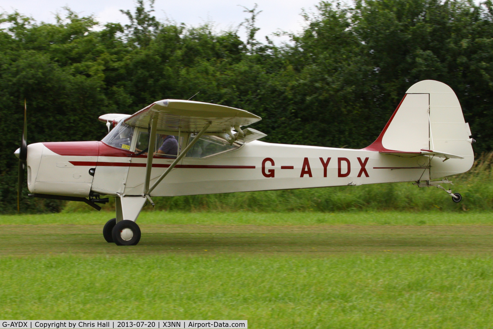 G-AYDX, 1968 Beagle A-61 Terrier 2 C/N B.647, at the Stoke Golding stakeout 2013