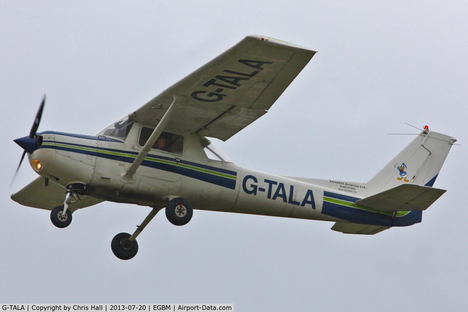 G-TALA, 1981 Cessna 152 C/N 152-85134, Tatenhill Aviation