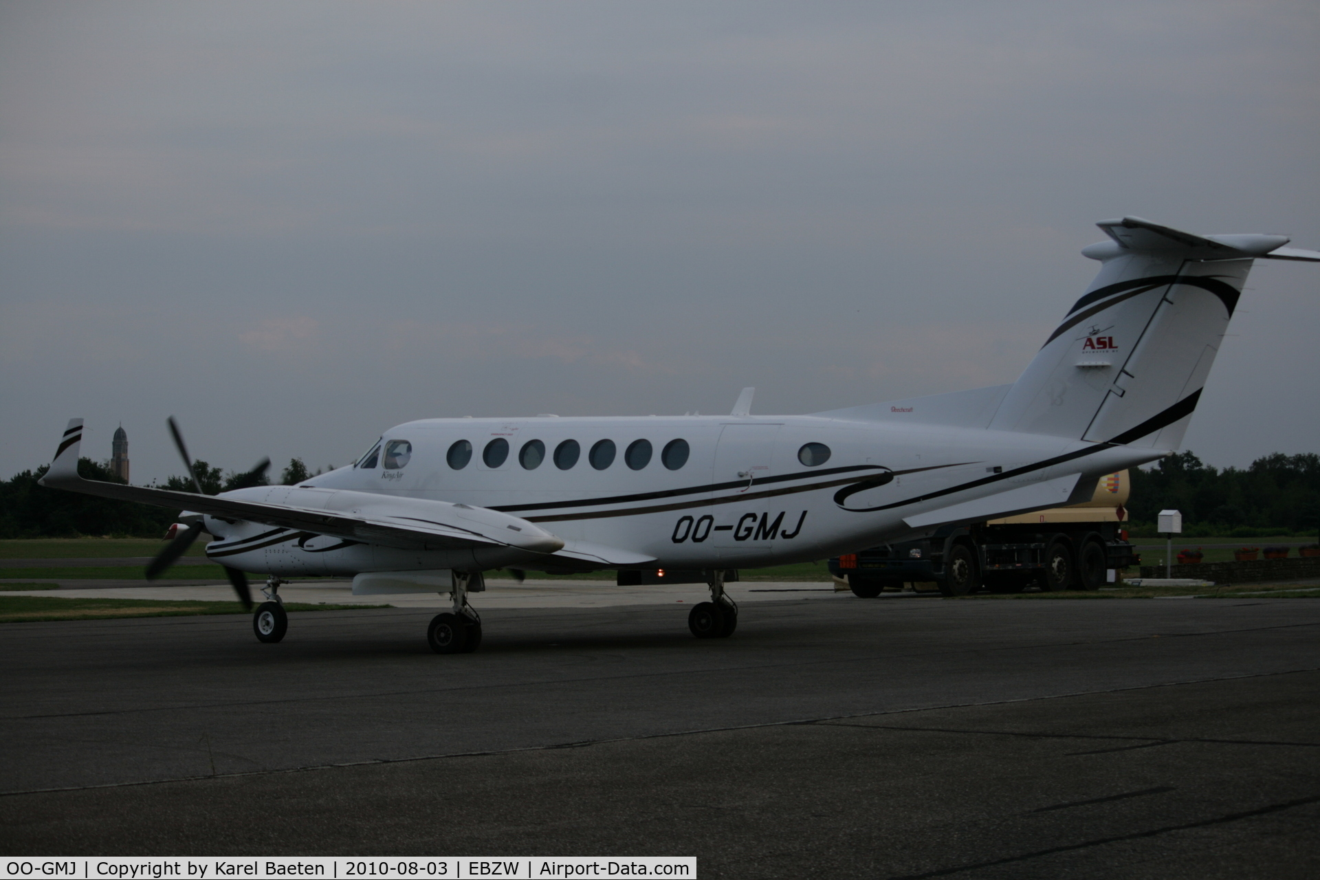 OO-GMJ, 2005 Beechcraft King Air 350B C/N FL-460, maintenance@EBZW