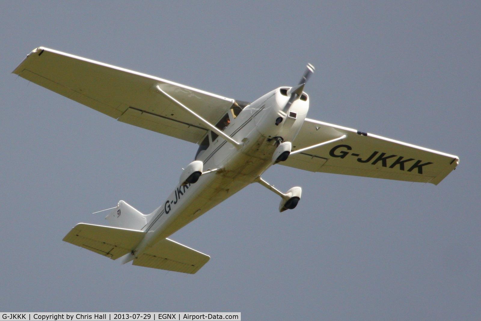 G-JKKK, 2008 Cessna 172S Skyhawk C/N 172S10663, privately owned