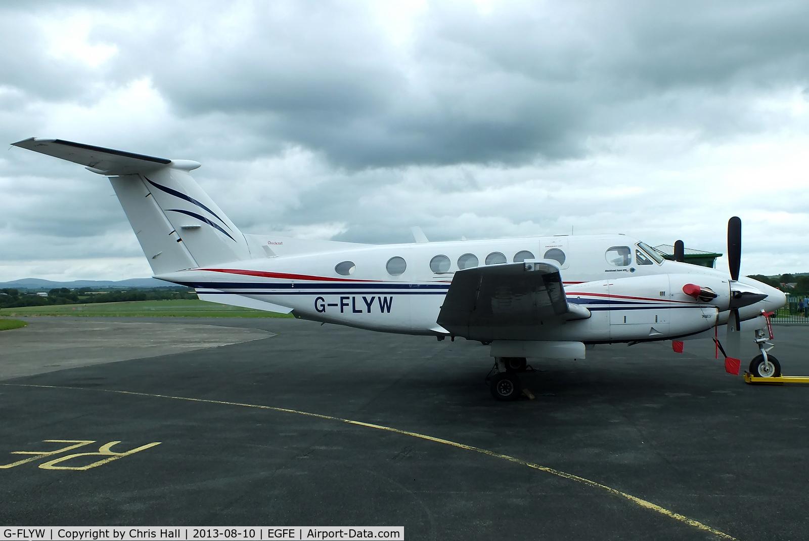 G-FLYW, 1977 Beech 200 Super King Air C/N BB-209, FlyWales