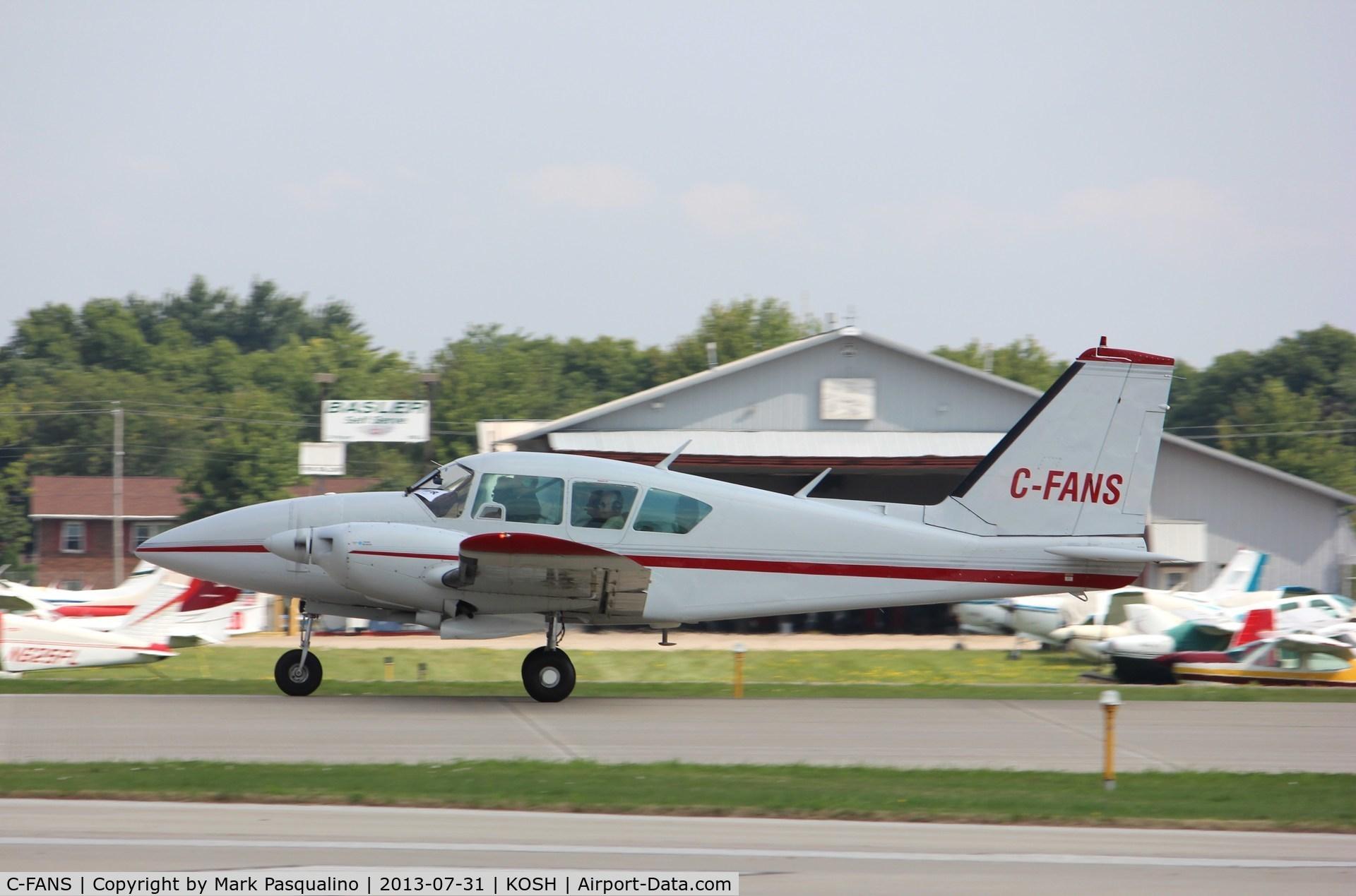 C-FANS, 1979 Piper PA-23-250 Aztec C/N 27-7954081, Piper PA-23-250