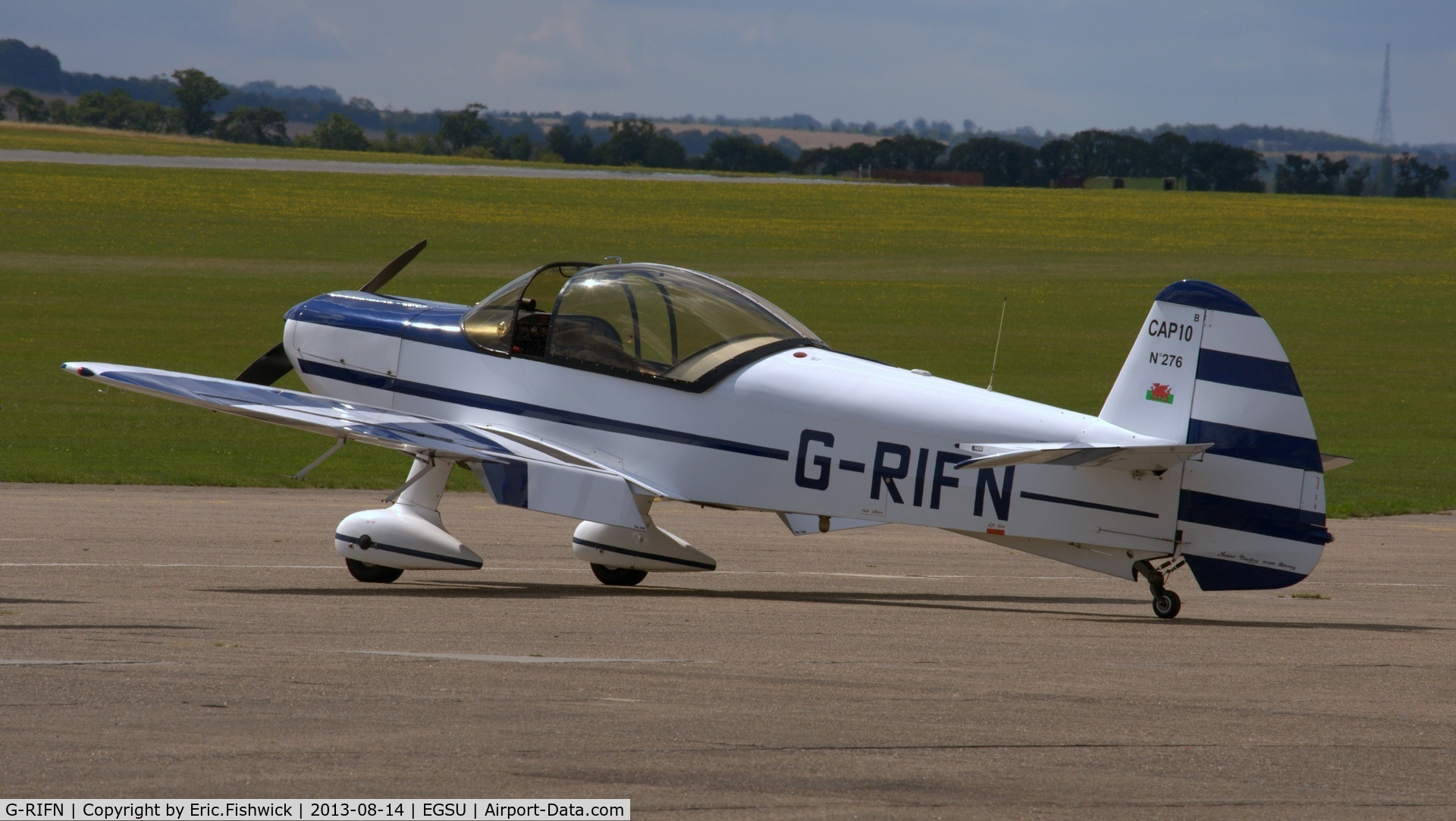 G-RIFN, 1995 Mudry CAP-10B C/N 276, 1. G-RIFN visiting Duxford Airfield.