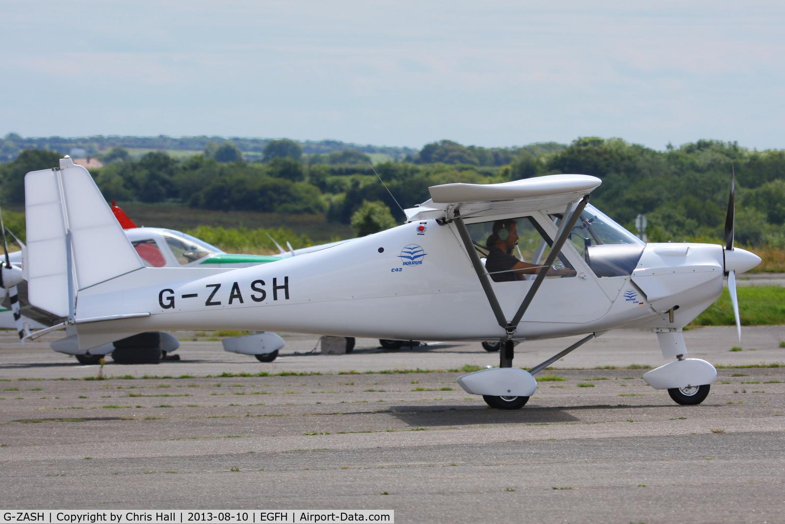 G-ZASH, 2013 Comco Ikarus C42 FB80 C/N 1304-7257, privately owned