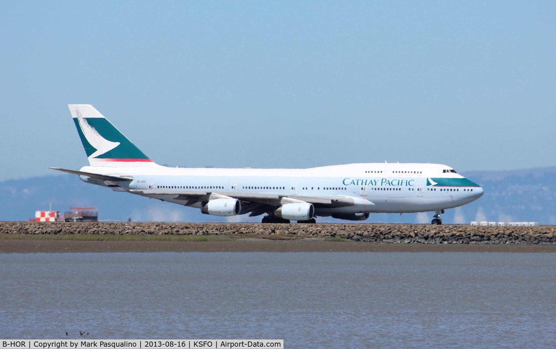 B-HOR, 1990 Boeing 747-467 C/N 24631, Boeing 747-400