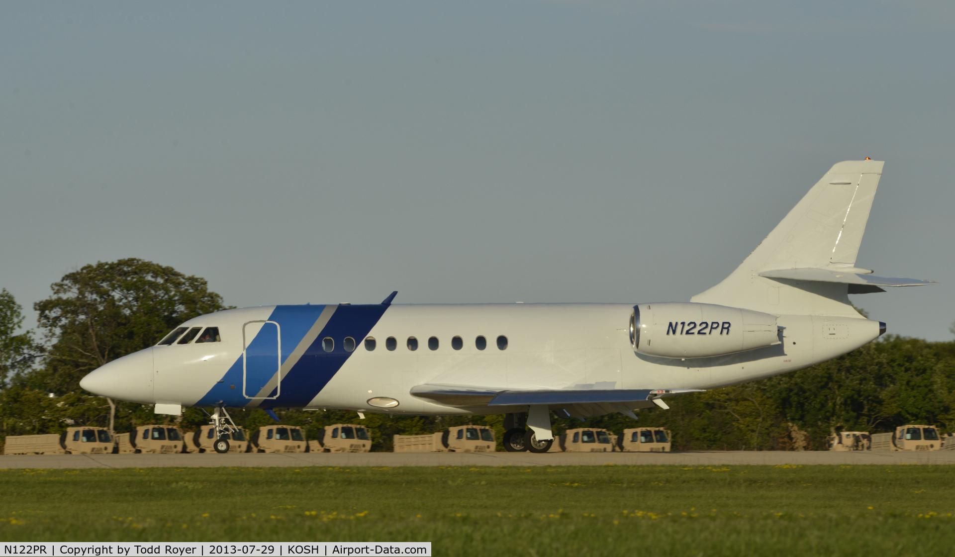 N122PR, 1998 Dassault Falcon 2000 C/N 57, Airventure 2013