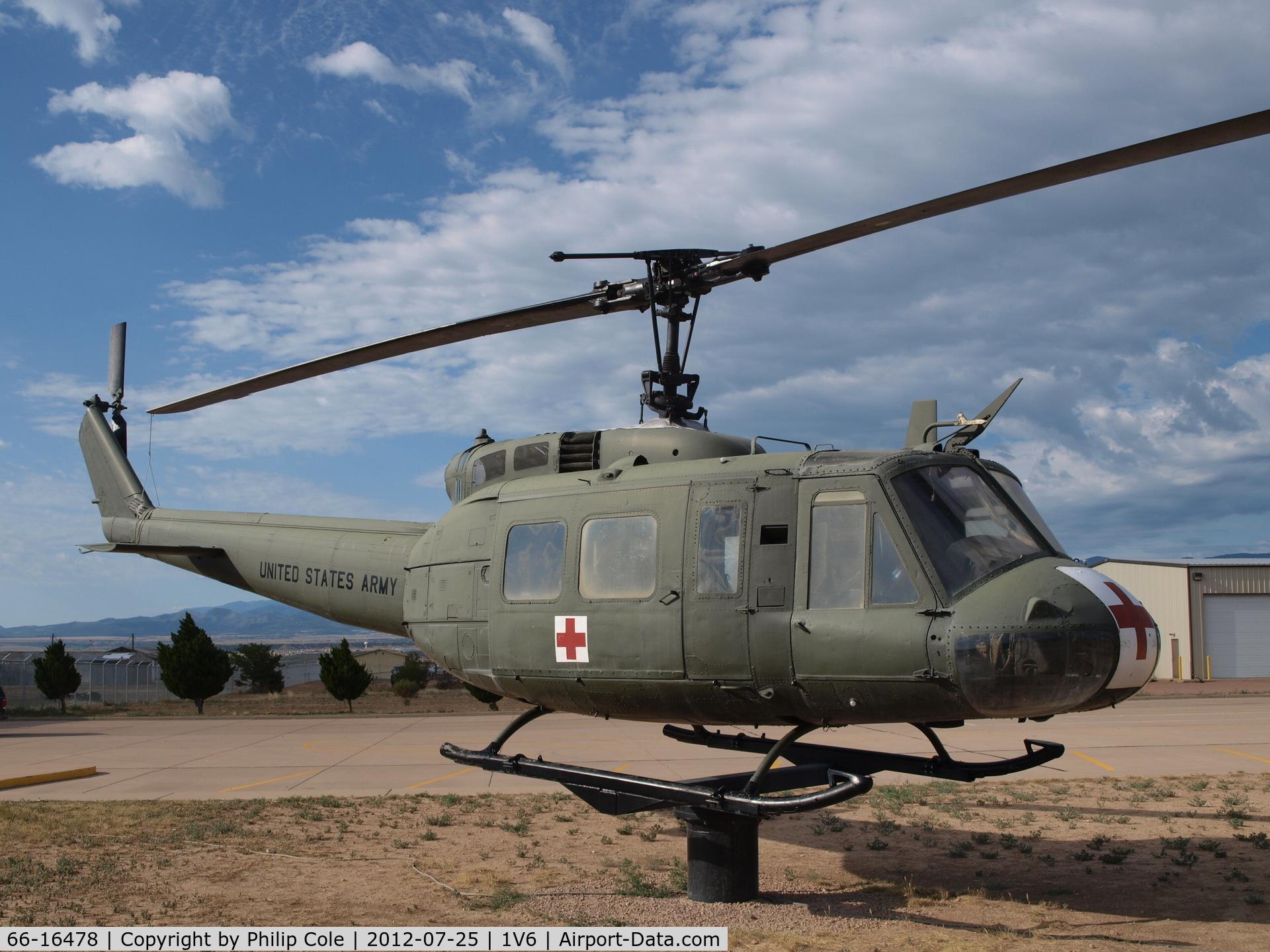 66-16478, Bell UH-1H Iroquois C/N 8672, Leo Boston Vietnam Memorial Park