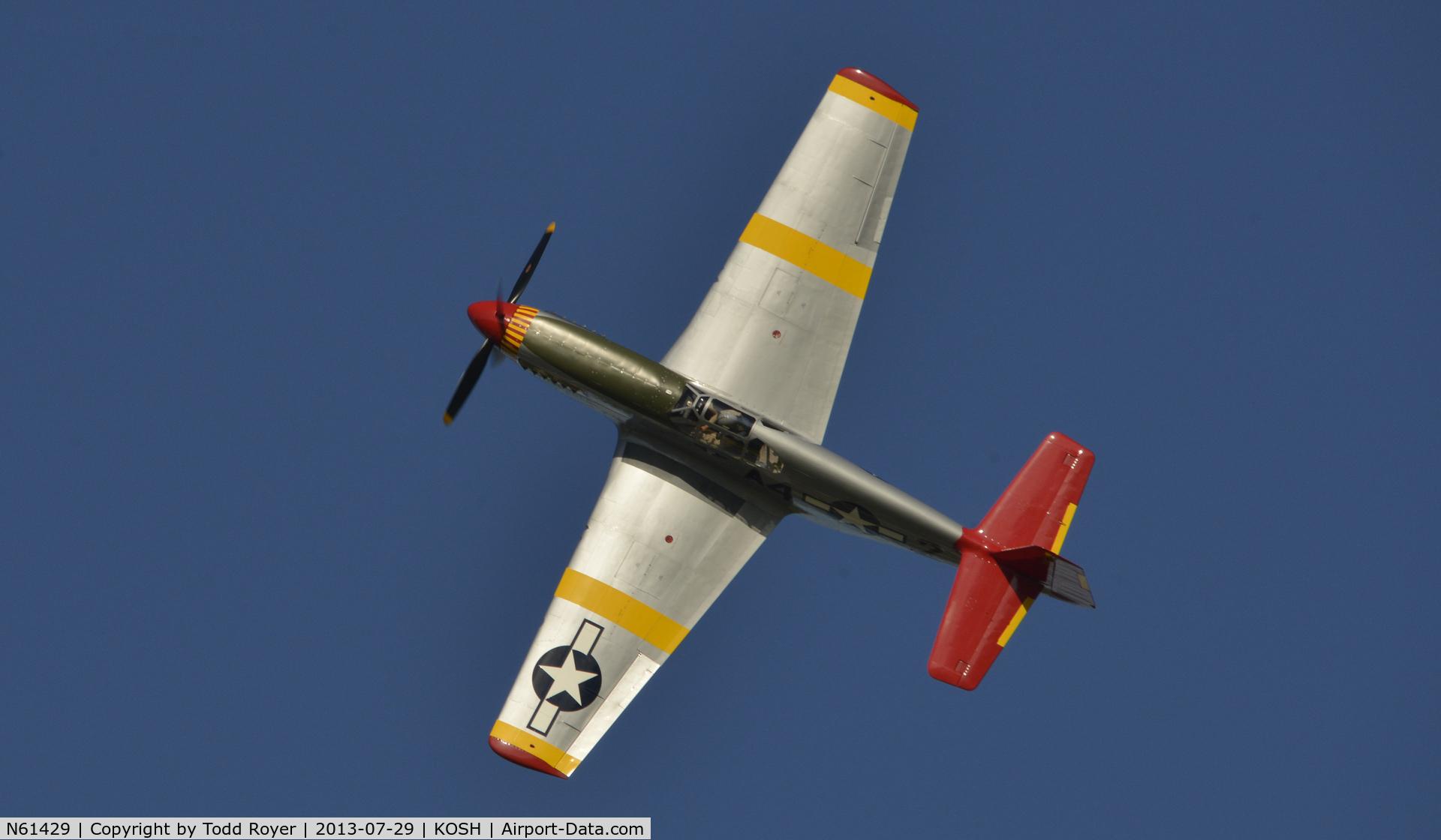 N61429, 1942 North American P-51C Mustang C/N 103-26199, Airventure 2013