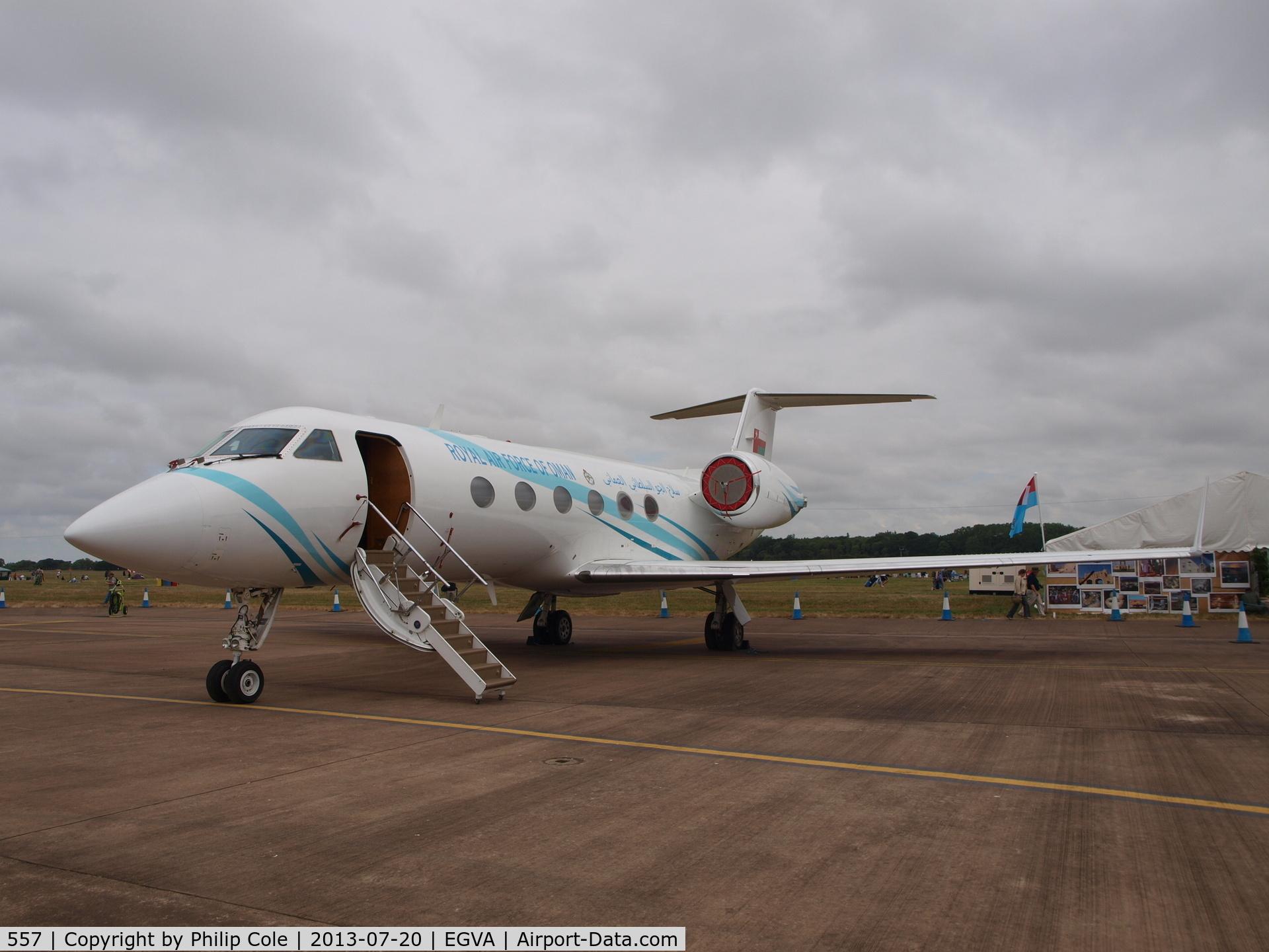 557, 1991 Gulfstream Aerospace Gulfstream IV C/N 1168, RIAT 2013