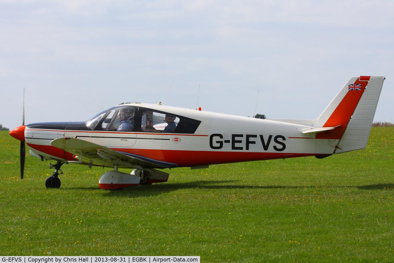G-EFVS, 1971 Wassmer WA-52 Europa C/N 22, at the LAA Rally 2013, Sywell