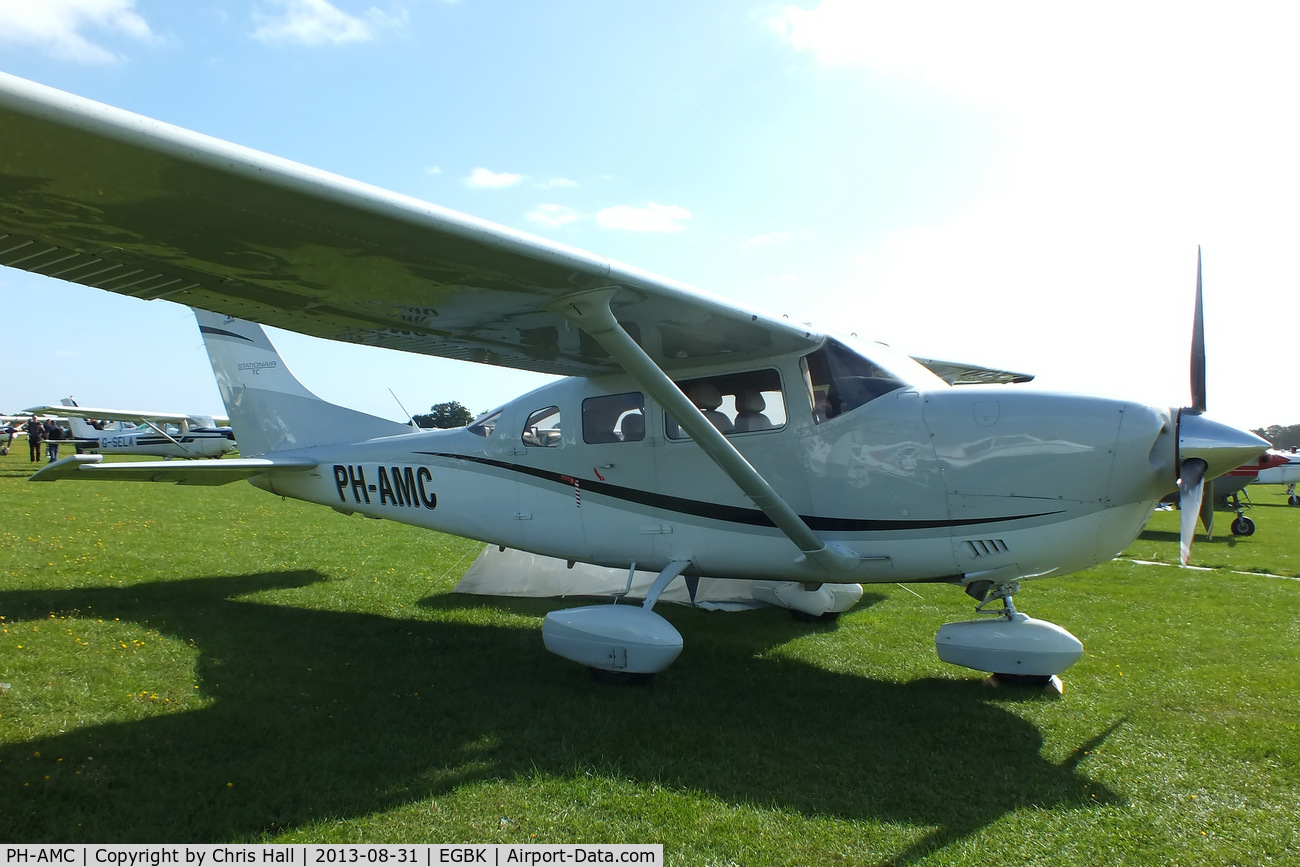 PH-AMC, Cessna T206H Turbo Stationair C/N T20608954, at the LAA Rally 2013, Sywell