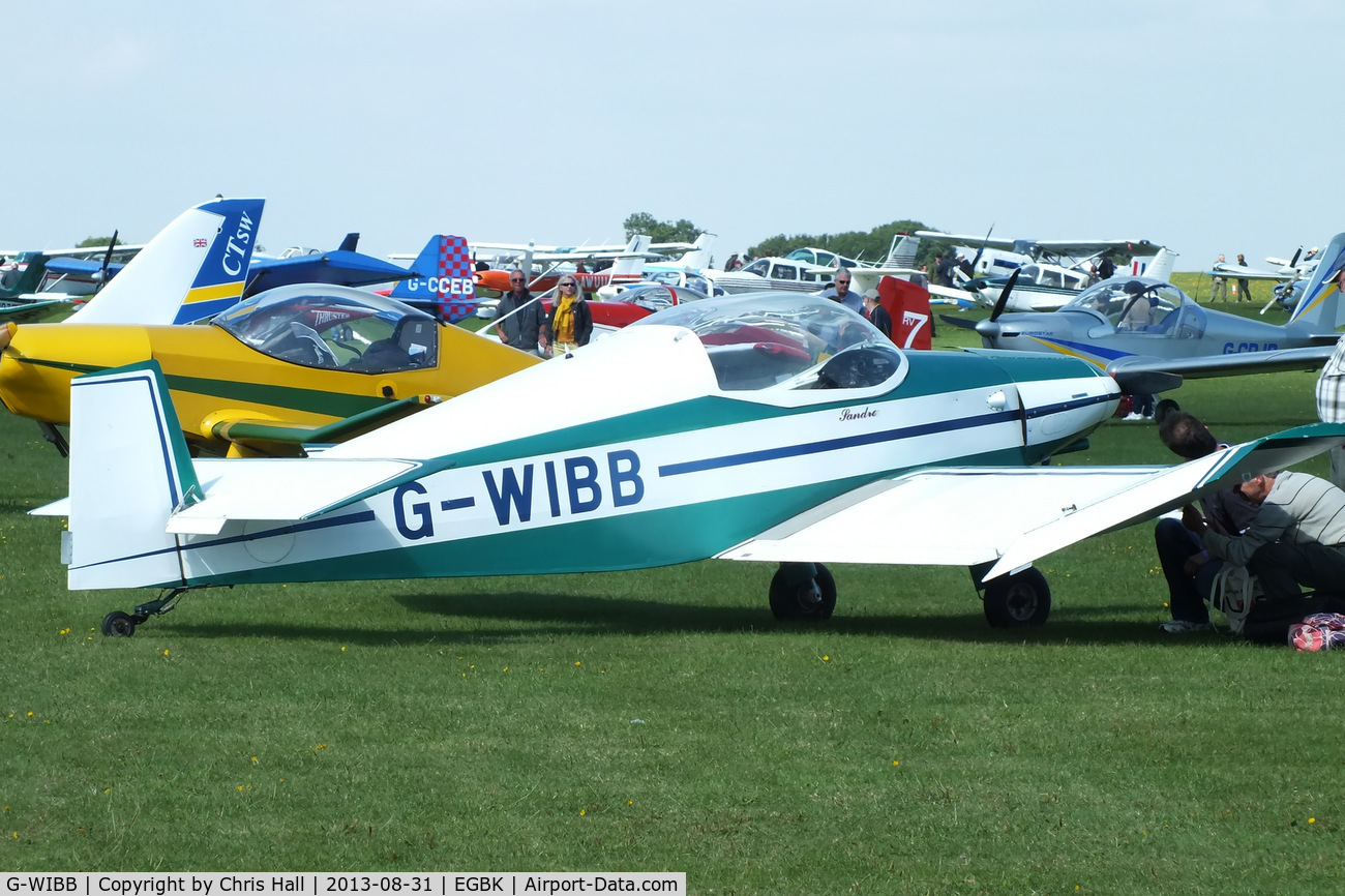 G-WIBB, 1996 Jodel D-18 C/N PFA 169-11640, at the LAA Rally 2013, Sywell