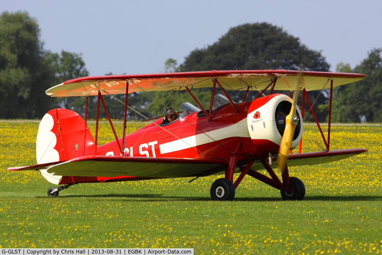 G-GLST, 2003 Great Lakes 2T-1A Sport Trainer C/N PFA 321-13646, at the LAA Rally 2013, Sywell