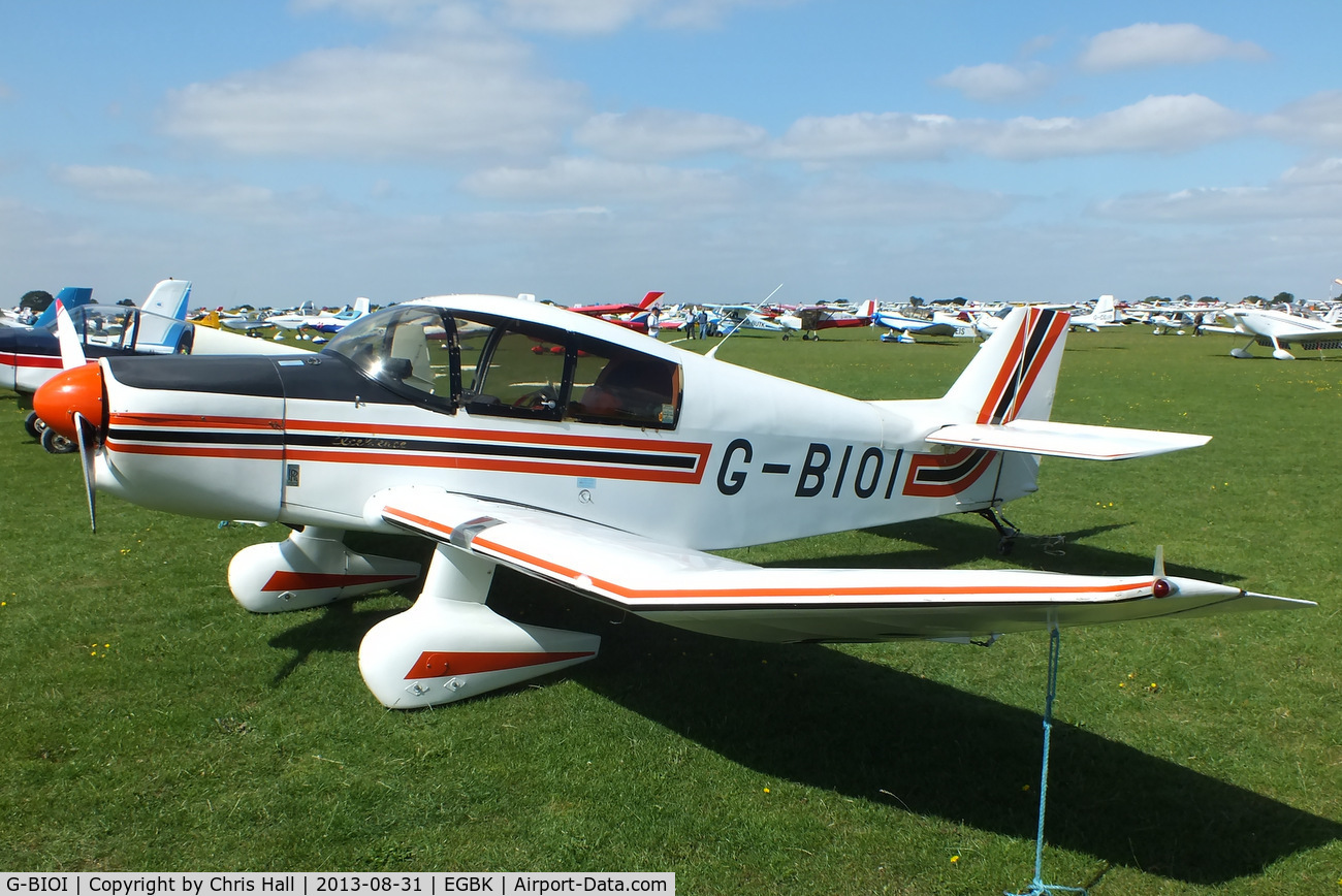 G-BIOI, 1964 SAN Jodel DR-1050M Excellence C/N 477, at the LAA Rally 2013, Sywell