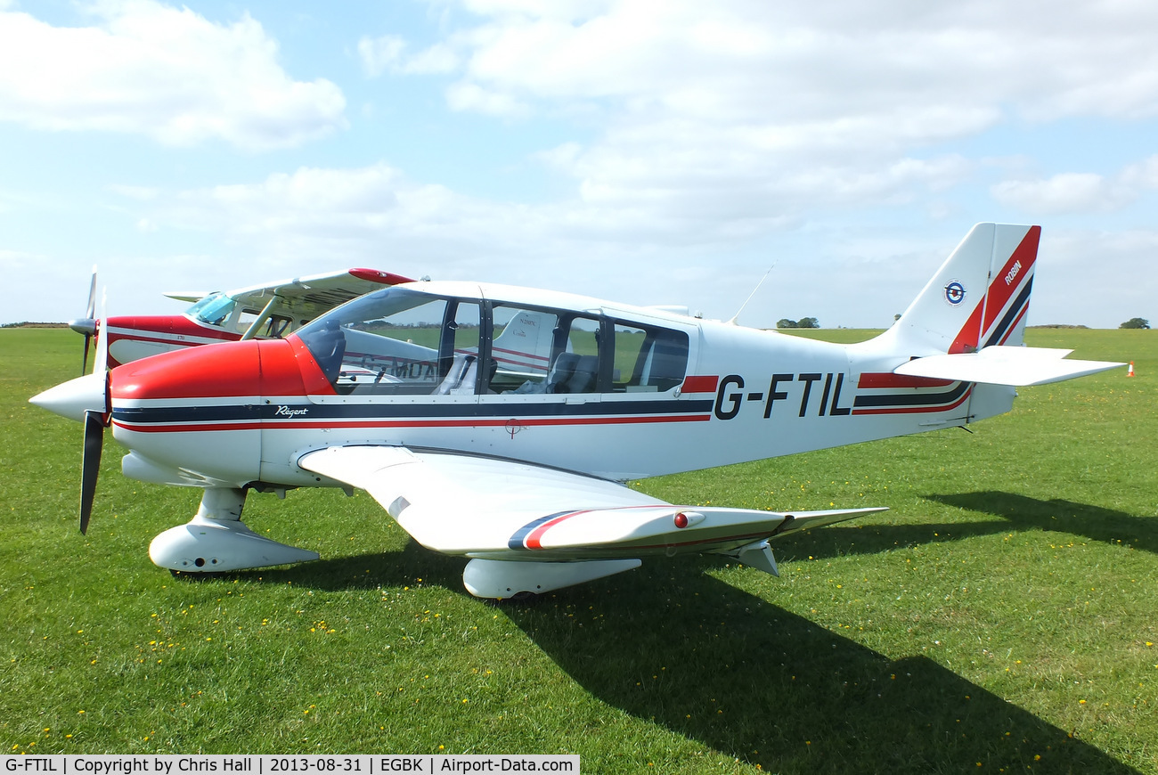 G-FTIL, 1988 Robin DR-400-180 Regent C/N 1825, at the LAA Rally 2013, Sywell