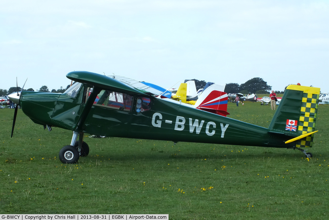 G-BWCY, 1996 Murphy Rebel C/N PFA 232-12135, at the LAA Rally 2013, Sywell