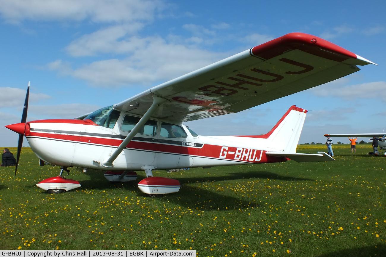 G-BHUJ, 1979 Cessna 172N Skyhawk C/N 172-71932, at the LAA Rally 2013, Sywell