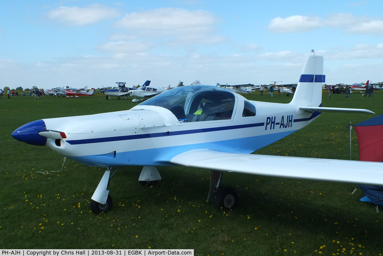 PH-AJH, Brandli BX-2 Cherry C/N 199, at the LAA Rally 2013, Sywell