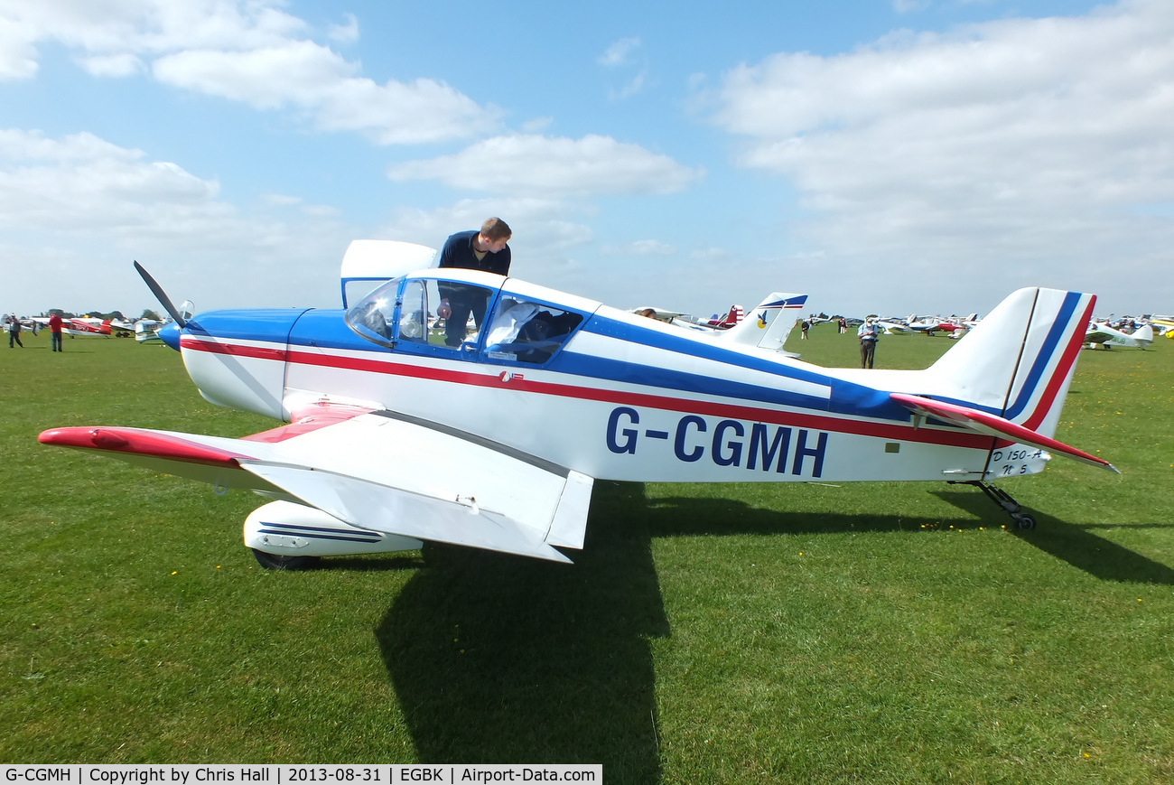 G-CGMH, 1963 SAN Jodel D-150A Mascaret C/N 05, at the LAA Rally 2013, Sywell