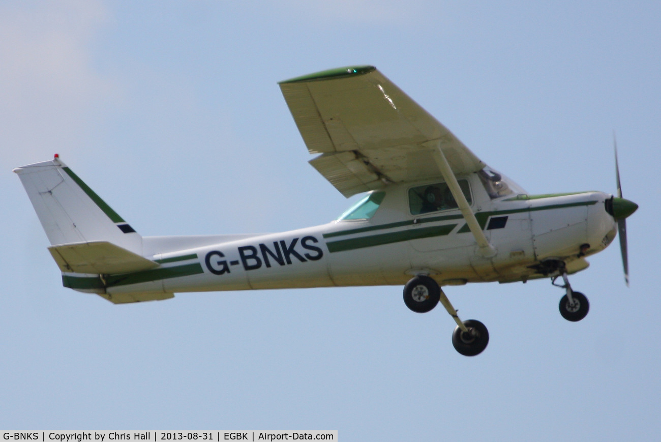 G-BNKS, 1979 Cessna 152 C/N 152-83186, at the LAA Rally 2013, Sywell