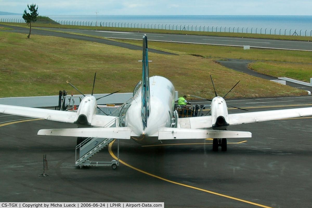 CS-TGX, 1990 British Aerospace ATP C/N 2025, At Horta