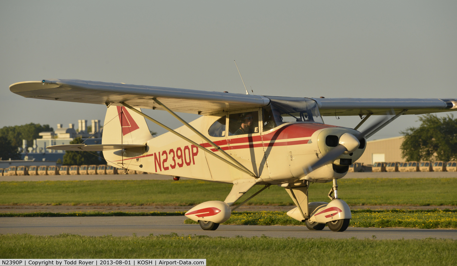 N2390P, 1955 Piper PA-22-150 Tri-Pacer C/N 22-2781, Airventure 2013