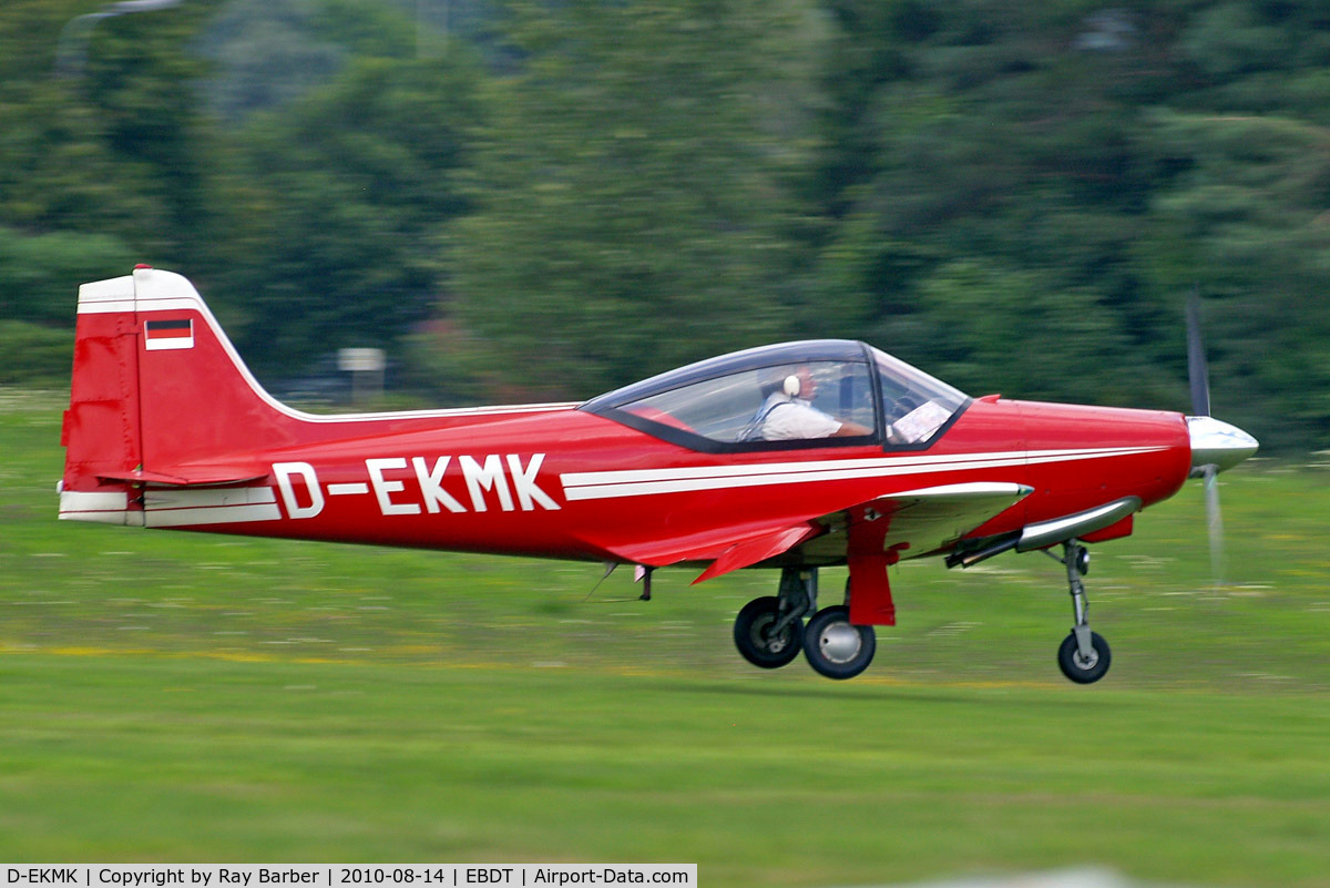 D-EKMK, 1962 Aeromere F-8L Falco III C/N 232, Aeromere F.8L Falco III [232] Schaffen-Diest~OO 14/08/2010