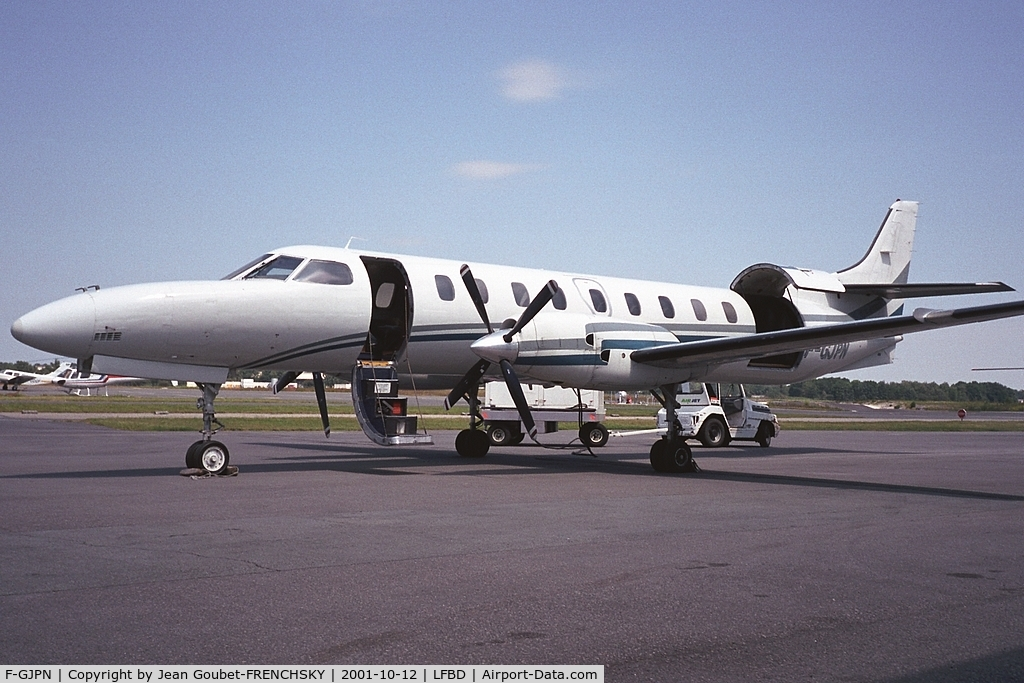 F-GJPN, 1990 Fairchild SA-227AC Metro III C/N AC-757B, Champagne Airlines to Dijon