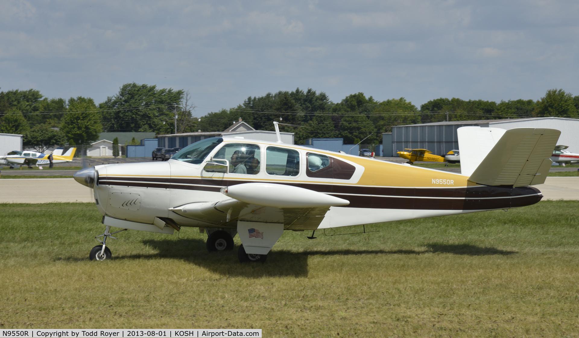 N9550R, 1959 Beech K35 Bonanza C/N D-6108, Airventure 2013